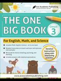 The One Big Book - Grade 3: For English, Math and Science
