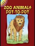 Zoo Animals Dot-To-Dot