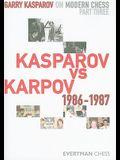 Kasparov Vs Karpov, 1986-1987