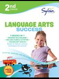 2nd Grade Language Arts Success: Activities, Exercises, and Tips to Help Catch Up, Keep Up, and Get Ahead (Sylvan Language Arts Super Workbooks)
