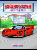 Sports Car Coloring Book: A Luxury Cars Coloring Book For Kids, Teens and Adults: A Luxury Cars Coloring Book For Kids, Teens and Adults