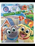 Puppy Dog Pals Mission: Fun: A Lift-The-Flap Book
