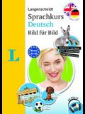 Langenscheidt German Language Course Picture by Picture - The Visual German Language Course, Coursebook and Audio CD (English Edition): Sprachkurs Deu