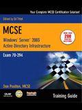 Windows Server 2003 Active Directory Infrasturcture: Exam 70-294 [With CDROM]