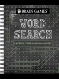 Brain Games - Word Search: Exercise Your Mind in Minutes (Chalkboard #1)