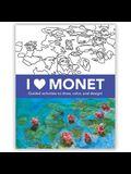 I Heart Monet Activity Book