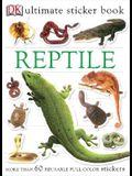 Ultimate Sticker Book: Reptile: More Than 60 Reusable Full-Color Stickers [With More Than 60 Reusable Full-Color Stickers]