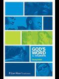 God's Word for Students Burgundy Bonded