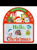 Hello, Christmas!: Peek-A-Boo Friends