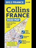 2012 Collins France Road Map