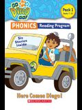 Go, Diego, Go! Phonics Reading Program: Here Comes Diego!: Books 7-12