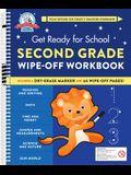 Get Ready for School: Second Grade Wipe-Off Workbook