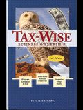 Tax-Wise Business Ownership