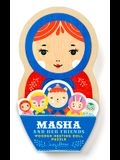 Masha and Her Friends Wooden Nesting Doll Puzzle