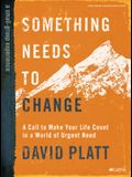 Something Needs to Change - Bible Study Book