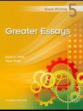 Greater Essays
