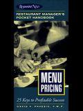 Menu Pricing: Restaurant Manager's Pocket Handbook Series
