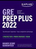 GRE Prep Plus 2022 Our 80 Year's Expertise = Your Competitive Advantage 6 Practice Tests + Proven Strategies + Online: 6 Practice Tests + Proven Strat