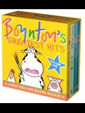 Boynton's Greatest Hits the Big Blue Box: Moo, Baa, La La La!; A to Z; Doggies; Blue Hat, Green Hat