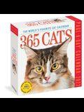 365 Cats Page-A-Day Calendar 2022: The World's Favorite Cat Calendar