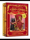 Adventures from the Land of Stories Set: The Mother Goose Diaries and Queen Red Riding Hood's Guide to Royalty