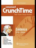 Evidence (Emanuel CrunchTime), 4th Edition