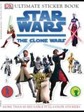 Ultimate Sticker Book: Star Wars: The Clone Wars [With Stickers]