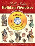 Full-Color Holiday Vignettes CD-ROM and Book [With CDROM]