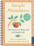 Simple Abundance 2022 Engagement Calendar: 365 Days to a Balanced and Joyful Life