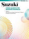 String Quartets for Beginning Ensembles, Vol 3
