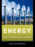 Energy: What Everyone Needs to Know(r)