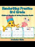 Handwriting Practice 3rd Grade: Children's Reading & Writing Education Books
