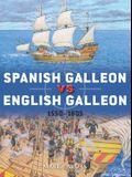 Spanish Galleon Vs English Galleon: 1550-1605