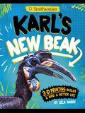 Karl's New Beak: 3-D Printing Builds a Bird a Better Life