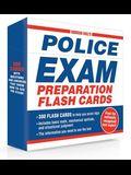 Norman Hall's Police Exam Preparation Flash Cards