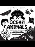 I See Ocean Animals: Bilingual (English / Korean) (영어 / 한국어) A Newborn Black & White Baby Book (High-Con