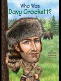 Uc Who Was Davy Crockett?