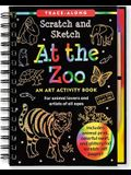 Scratch & Sketch at the Zoo (Trace-Along) [With Wooden Stylus]