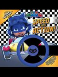 Speed Into Action!: A Steer-The-Story Book