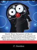 Shock Wave Dynamics of Novel Aluminized Detonations and Empirical Model for Temperature Evolution from Post-Detonation Combustion Fireballs