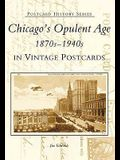 Chicago's Opulent Age 1870s-1940s in Vintage Postcards