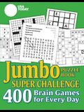 USA Today Jumbo Puzzle Book Super Challenge, 27: 400 Brain Games for Every Day
