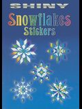 Shiny Snowflakes Stickers [With 12 Full-Color Stickers]