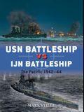USN Battleship Vs IJN Battleship: The Pacific 1942-44