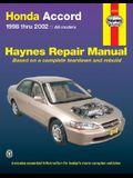 Honda Accord 1998-2002: All Models