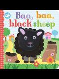 Baa, Baa, Black Sheep Finger Puppet Book