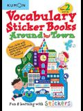 Vocabulary Sticker Books Around Town