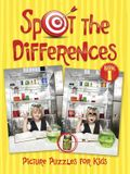 Spot the Differences Picture Puzzles for Kids Book 1