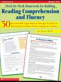 Week-By-Week Homework for Building Reading Comprehension and Fluency: Grades 3-6