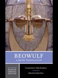 Beowulf: A Prose Translation: Backgrounds and Contexts, Criticism
